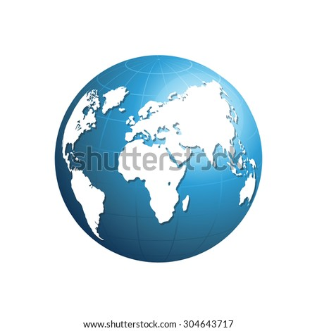 World map globe detail vector illustration stock vector 2018 world map and globe detail vector illustration gumiabroncs Gallery