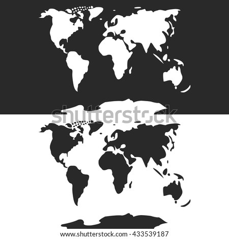 World map eps similar world map stock vector 433539187 shutterstock world map eps similar world map world map clean world map card gumiabroncs Images