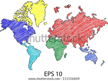 World map globe vector line sketch vectores en stock 111556604 world map globe vector line sketch up illustrator eps 10 gumiabroncs Image collections