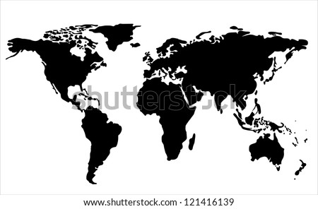 World map vector stock images royalty free images vectors world map illustration gumiabroncs Gallery