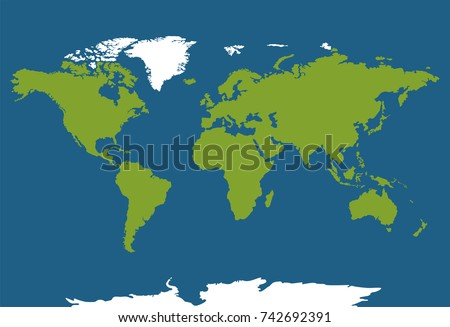 World map illustration illustration earth map stock vector 2018 world map illustration illustration of earth map in cylindrical mercator projection vector illustration gumiabroncs Choice Image