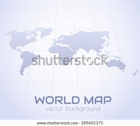 World map perspective background vector eps10 stock vector world map in perspective background vector eps10 gumiabroncs Choice Image