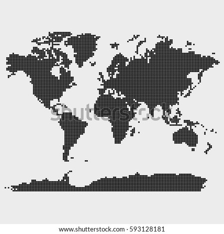 World map squares vector 5512 squares stock vector 593128181 world map in squares vector 5512 squares elements gumiabroncs Image collections