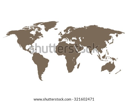 World map on transparent background stock vector 321602471 world map on transparent background gumiabroncs Images