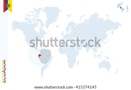 Ecuador Map Stock Images RoyaltyFree Images Vectors Shutterstock - Map of ecuador world