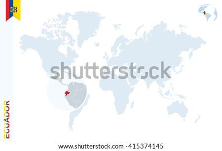 Ecuador Map Stock Images RoyaltyFree Images Vectors Shutterstock - Map of ecuador world