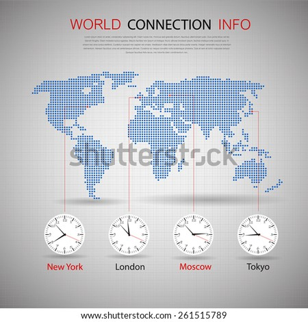 Time zone map stock images royalty free images vectors world map with time zones gumiabroncs Image collections