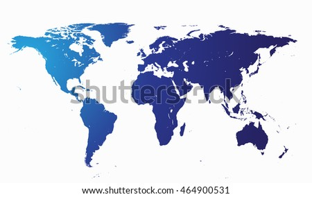 World map flat vector stock vector 425096890 shutterstock world map without borders vector illustration flat design gumiabroncs Choice Image