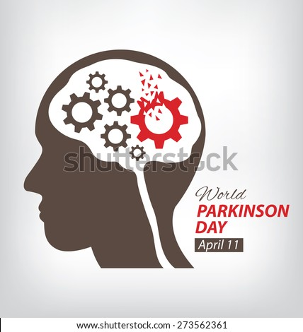 World Parkinson Day concept. vector illustration. - stock vector