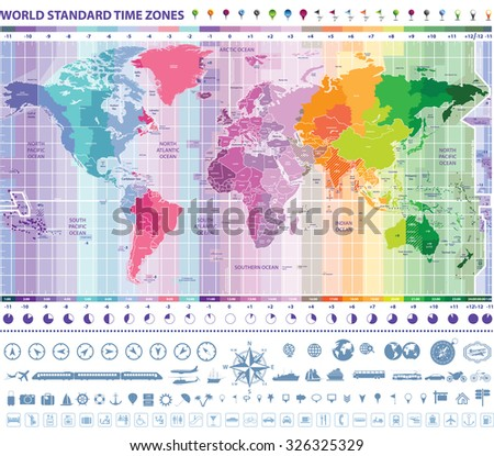 Time Zone Stock Images, Royalty-Free Images & Vectors | Shutterstock