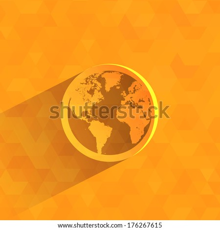 World. Vector format - stock vector