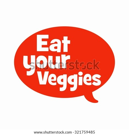 World vegetarian day vector, cartoon vegetables character and vegetarian, health slogan