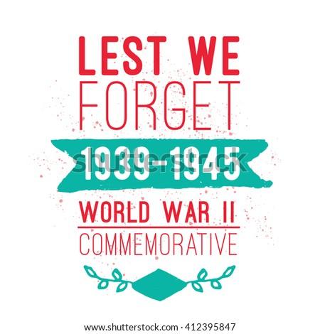 world war ii commemorative day vector stock vector 412395847 shutterstock