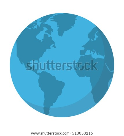 Worldwide Vector Icon