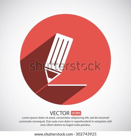 write a note to web icon. vector 10 EPS - stock vector