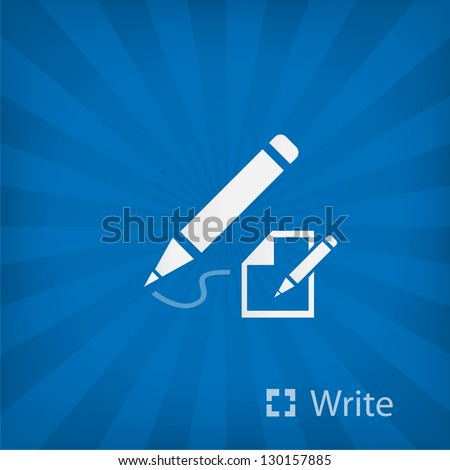 Writing Tool, Propelling Pencil - stock vector
