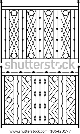 Window grills Stock Photos, Window grills Stock Photography ...