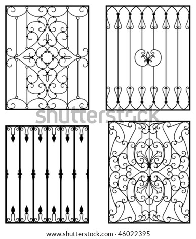 Window grill Stock Photos, Window grill Stock Photography, Window ...