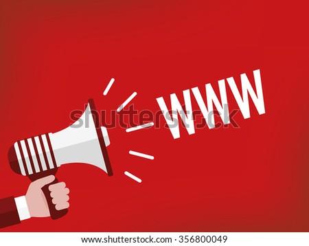 WWW - stock vector