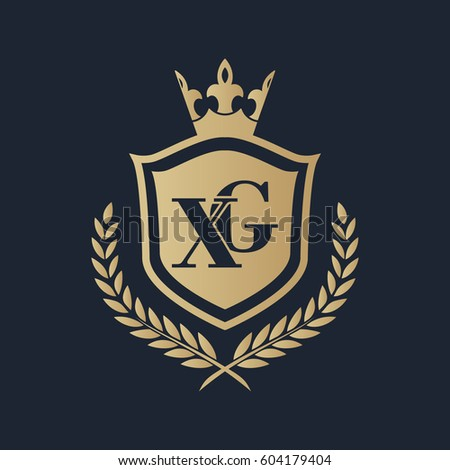 Xg Logo Stock Vector Hd Royalty Free 604179404 Shutterstock