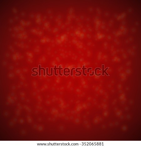 Xmas Background With Gradient Mesh, Vector illustration - stock vector