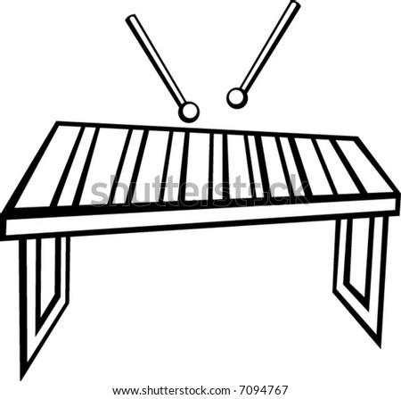 xylophone vibraphone o...