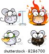 Year of the Rat Cartoon Emoticon Series - Miscellaneous - stock vector