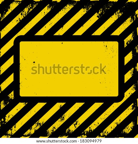 yellow and black grunge background with copy space
