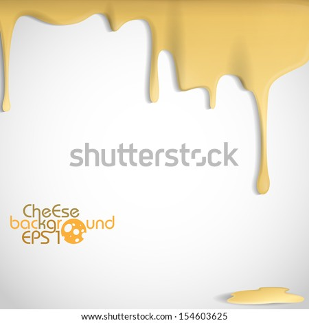 Yellow Cheese Background. Vector Illustration. Eps 10. - stock vector