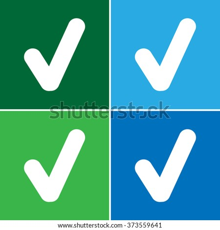 Yes button Vector EPS10, Great for any use - stock vector