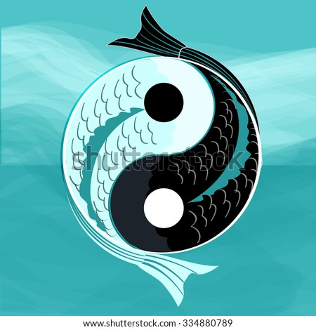 yin yang fish stock images royalty free images vectors shutterstock. Black Bedroom Furniture Sets. Home Design Ideas