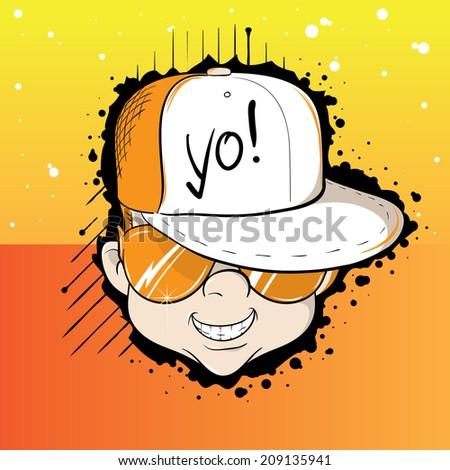 Yo Dude - stock vector