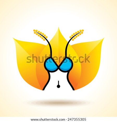 Yoga Body care - vector illustration - stock vector