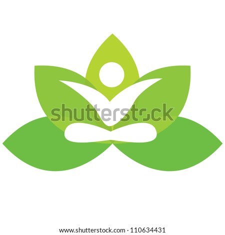 Yoga Lotus Symbol Lotus Flower Icons Stock Photos, Images, & Pictures | Shutterstock
