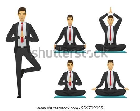 yoga tree pose icon stock images royaltyfree images