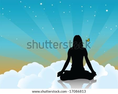 yogi - stock vector