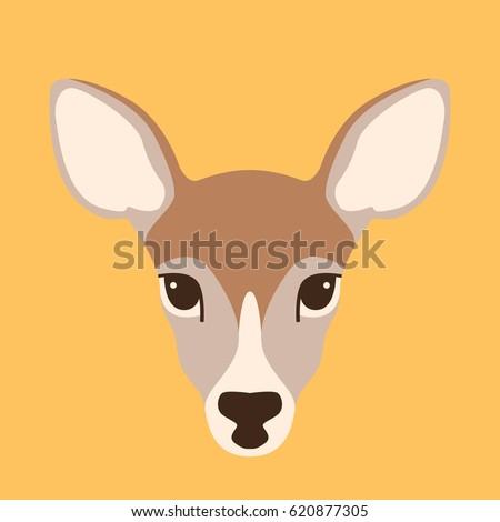 deer head outline clear background pdf