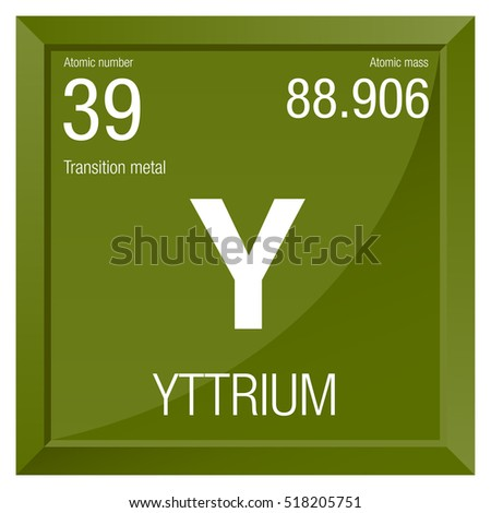 Yttrium symbol element number 39 periodic stock vector royalty free yttrium symbol element number 39 of the periodic table of the elements chemistry urtaz Image collections