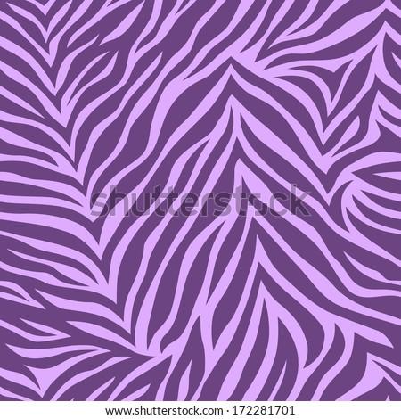 zebra print chic vector seamless patterns tiling violet color vector illustration