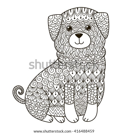 Doodle Dog Stock Images Royalty Free Images Amp Vectors
