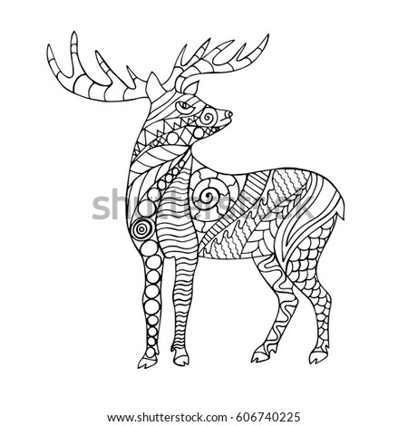 Caribou Cartoon Stock Images Royalty Free Images Vectors