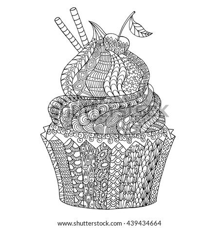 Coloring Pages Sort Cake