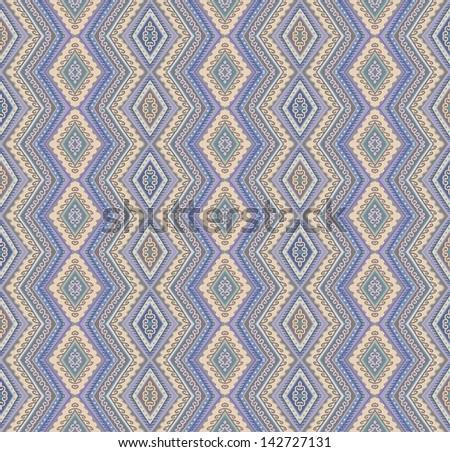 Zigzag wallpaper - stock vector