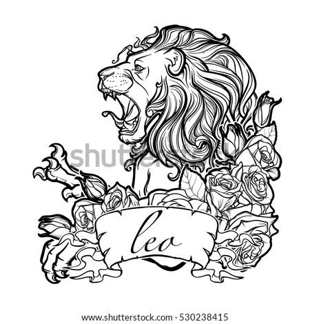Leo And Taurus Tattoo Designs