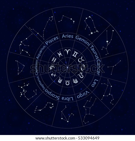 Zodiac Signs Stock Images RoyaltyFree Images  Vectors