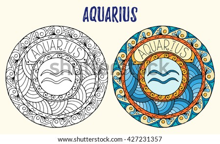 africain zodiac coloring pages - photo#30
