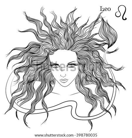 Leo stock photos royalty free images vectors shutterstock for Leo coloring pages
