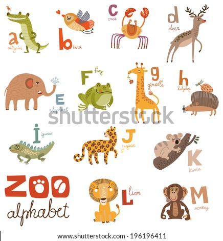 The Alphabet Zoo Part 2