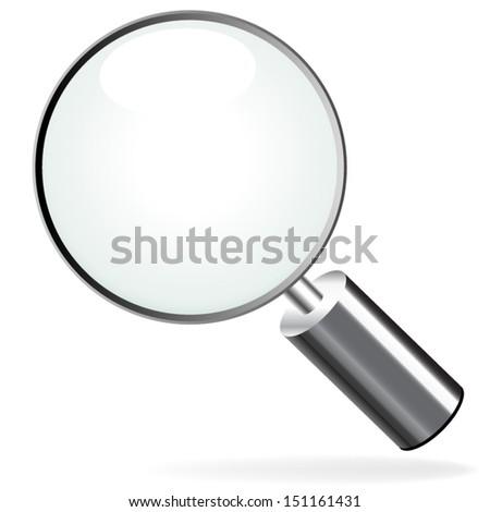 Zoom icon - stock vector